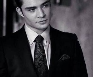 chuck bass, gossip girl, and ed westwick image