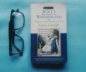 aliceinwonderland, books, and read image