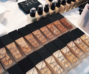 nars, makeup, and Foundation image