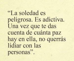 frases, soledad, and realidad image