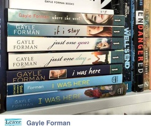 books, i was here, and if i stay image