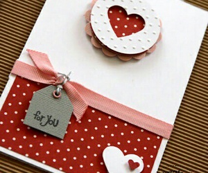 card, cute, and gift image