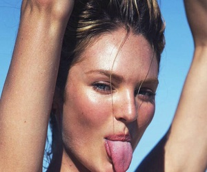 model, candice swanepoel, and summer image