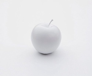 apple, white, and simple image