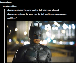 batman, funny, and obama image