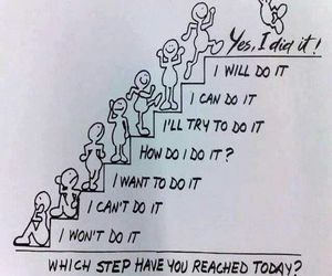 quotes, motivation, and steps image