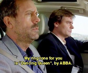Abba, funny, and gregory house image