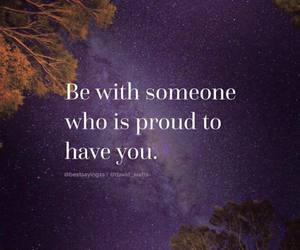 quotes, proud, and someone image