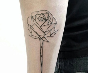 rose and tatoo image