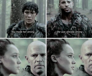 lincoln, ricky whittle, and lexa image