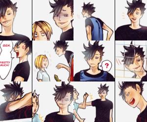hinata, kageyama, and manga image