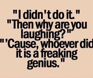 funny, genius, and quotes image