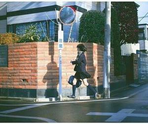 japan, street, and run image