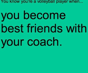 volleyball, coach, and volleyball player image
