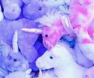 unicorn, purple, and pink image