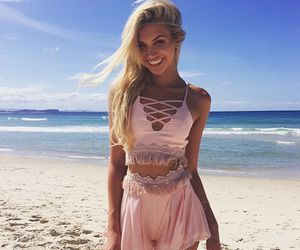 beach, beauty, and clothes image