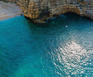 sea, italy, and ocean image