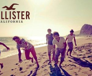 one direction, hollister, and liam payne image