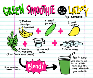 smoothie, green, and healthy image