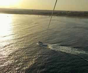 egypt, enjoy, and parasailing image