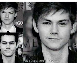 thomas, thomas sangster, and dylan o'brien image