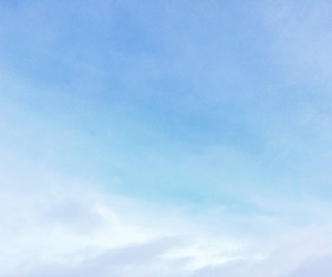 blue, clouds, and blue sky image