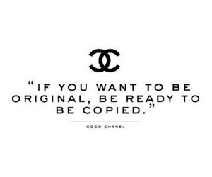 quote, chanel, and original image