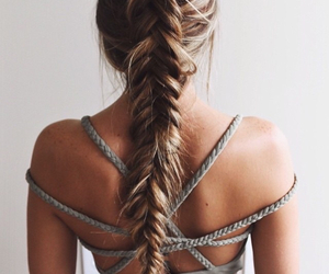 braids, summer, and cute image