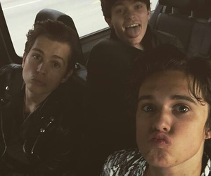the vamps, connor ball, and james mcvey image