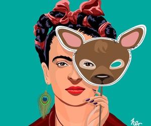 background, frida kahlo, and wallpaper image