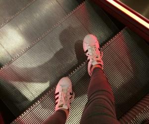 adidas, fashion, and lights image