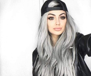 hair, beauty, and makeup image