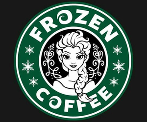 frozen, coffee, and starbucks image