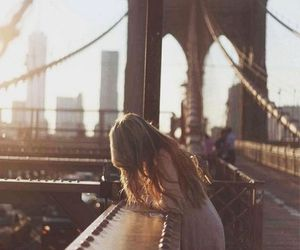 girl, city, and summer image