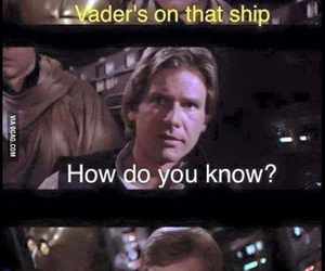 star wars, funny, and han solo image
