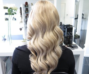 hair, blonde, and classy image