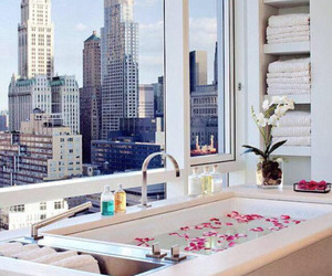 city, luxury, and bath image