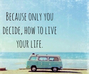 quote, life, and beach image