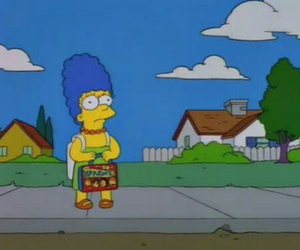 marge, the simpsons, and simpsons image