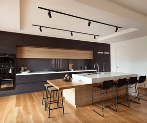 home, architecture, and kitchen image