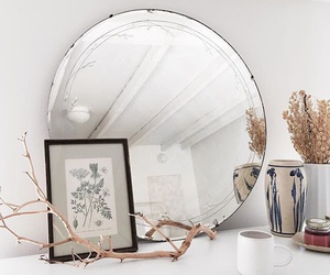 accessories, mirror, and cosy image