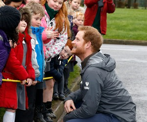 children, flood, and prince harry image