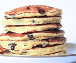 chocolate chip and pancakes image