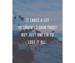 quote, truth, and alone image