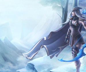 ashe, leagueoflegends, and lol image