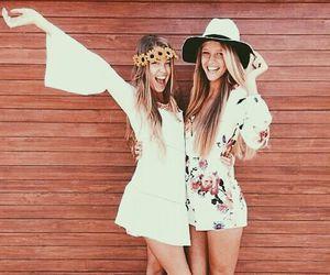 boho, girl, and summer image