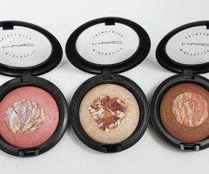 makeup, mac, and blush image