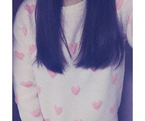 girly, pastel, and sweater image