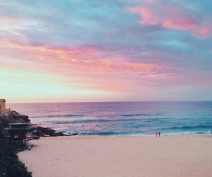 beach, bikini, and house image