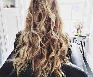 hair, blonde, and hairstyle image